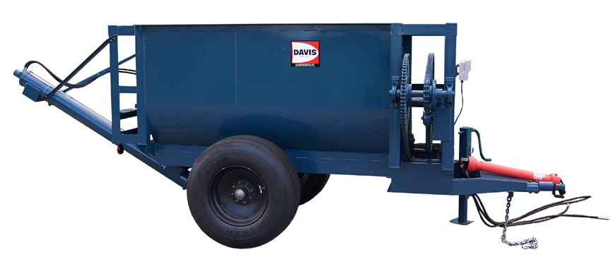 SD-30TR Trailer Mounted Mixer with Scale