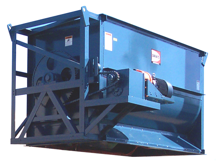 S-60 Standard Duty Batch Mixer with Foot Mounted Gear Drive