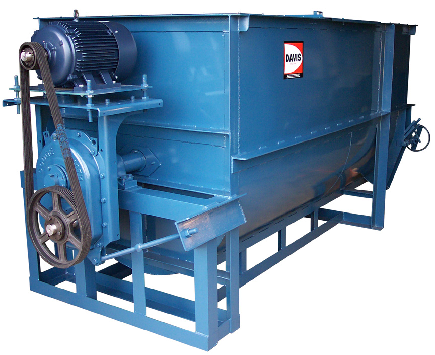 HD-60 Heavy Duty Batch Mixer with Shaft Mounted Gear Drive