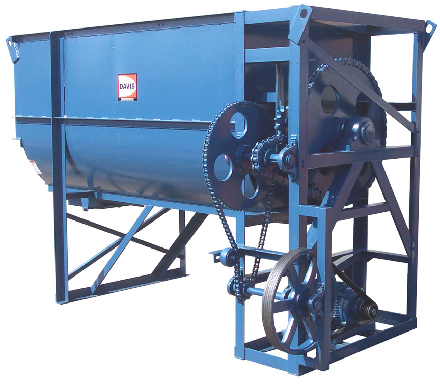 HD-80 Heavy Duty Batch Mixer with High Legs and Standard Drive